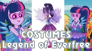 Legend of Everfree - Equestria Girls 4 - ALL COSTUMES