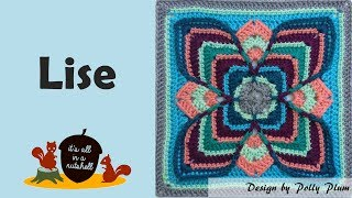 Lise - Crochet Square