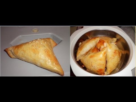 SAMBUSA RECIPE! Meat and Pumpkin filled ones!