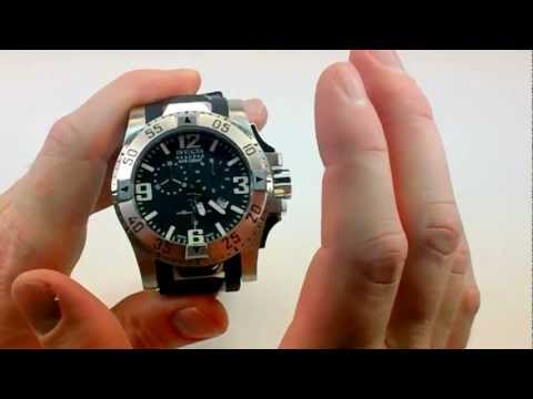 Invicta Reserve Chronograph Excursion Watch Review