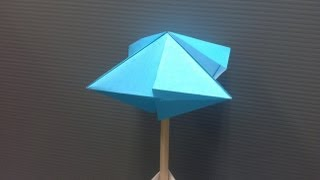 Daily Origami: 044 - Equilibrium (wind Catcher)