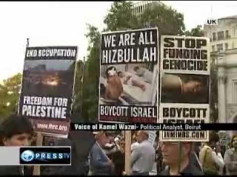 'World rallies against Israel's occupation'  [Press TV Interviews Kamel Wazni]