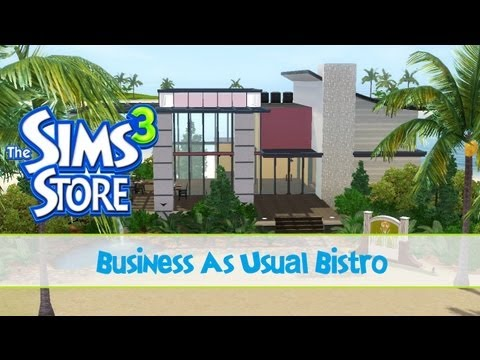 The Sims 3 Store : Business as Usual Bistro