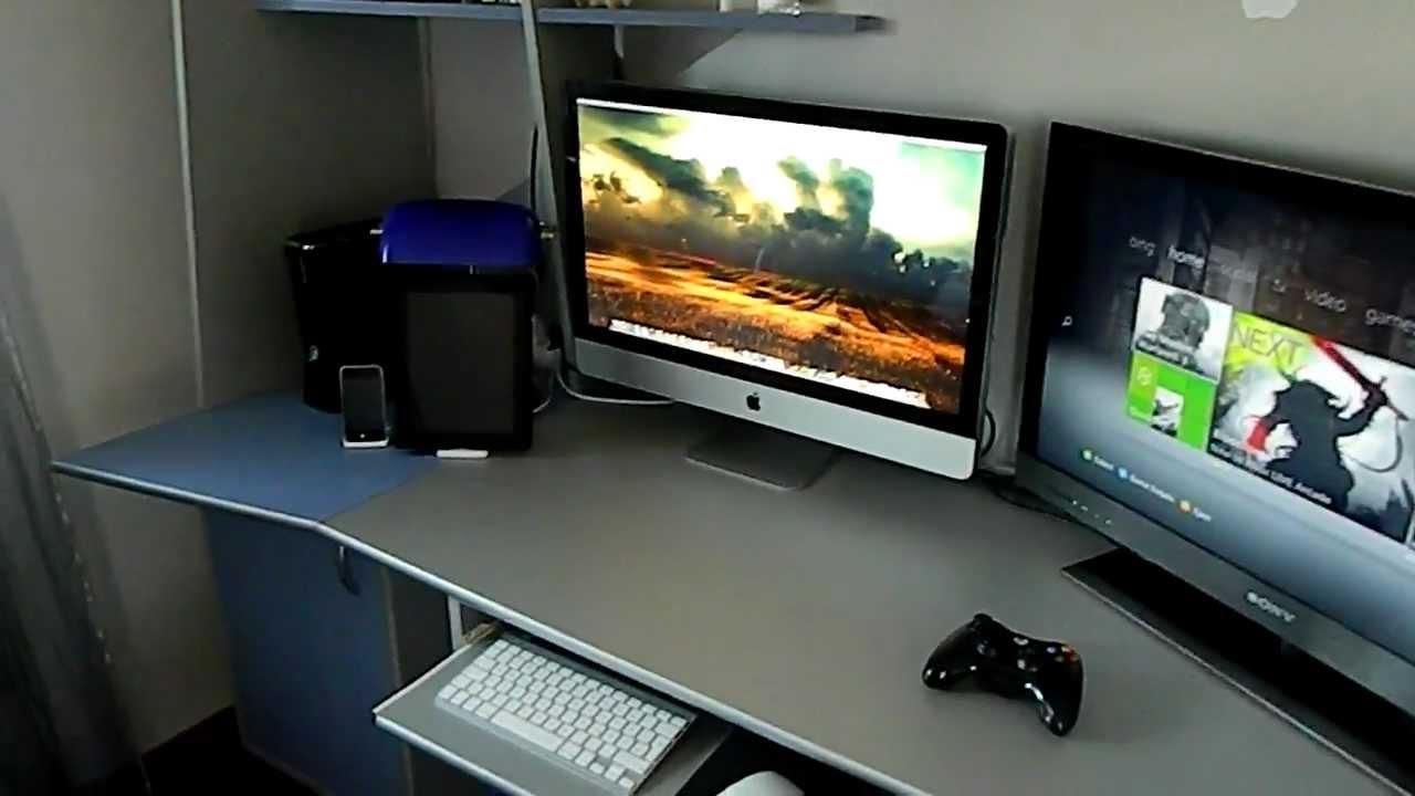 Xbox 360 gaming setup