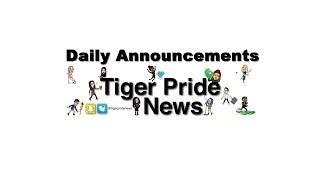 Tiger Pride News   Friday Night Lights 10/12