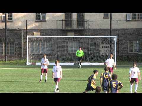 The Haverford School Varsity Soccer vs Penn Charter 10.29.13 Goalie Video First Half