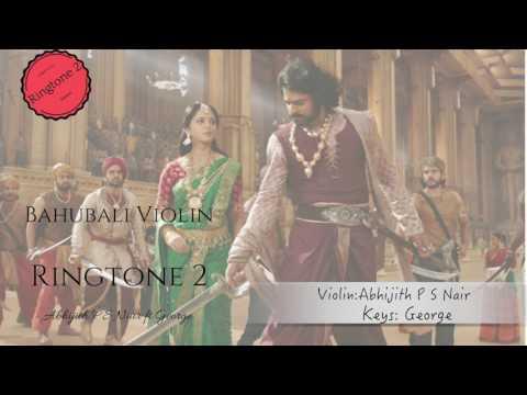 Bahubali|Ringtone|Dandalayya| Abhijith P S Nair|A Tribute|Violin