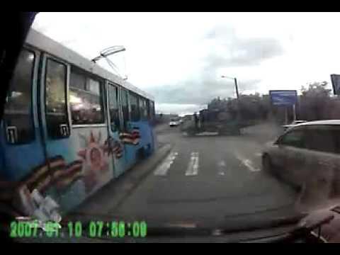 ДТП  Трамвай vs Камаз