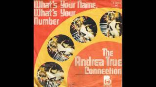 Watch Andrea True Connection Whats Your Name Whats Your Number video