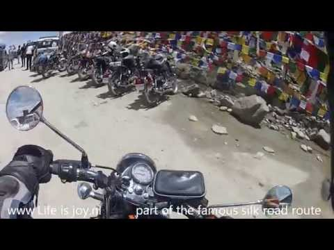 Great Himalayas world's highest passes most dangerous roads road trip on Royal Enfield motorbikes2