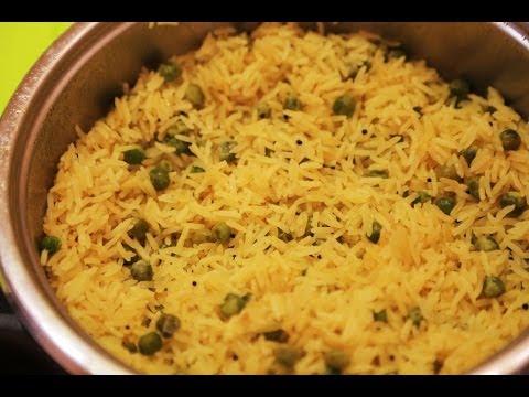 Как приготовить вкусный рассыпчатый рис / Лимонный рис с зеленым горошком - рецепт.