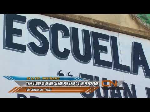Un preceptor de la Escuela Juan Blasco fue denunciado por abuso