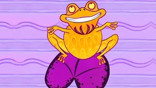 Tinga Tinga Tales Official | Why Frog Croaks?  | Full Episodes | Cartoons For Kids