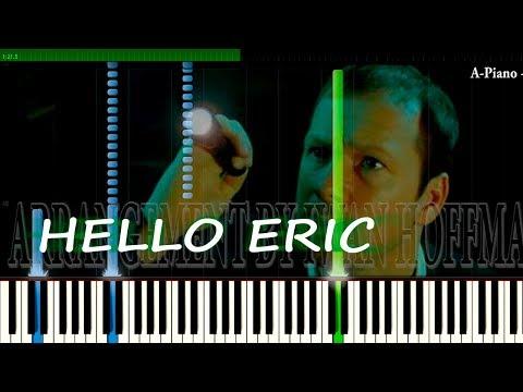 Saw II - Hello Eric (HELLO ZEPP) Synthesia Piano Tutorial (100%) by Iwan Hoffman (2017)