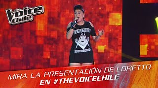The Voice Chile | Loretto Canales - Somebody to love
