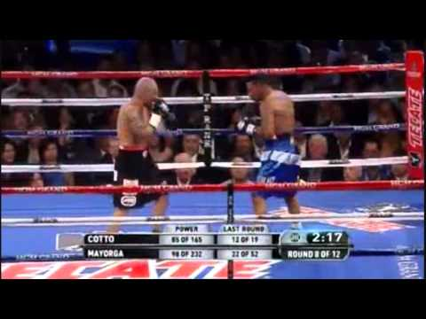 Miguel Cotto vs Ricardo Mayorga RECAP