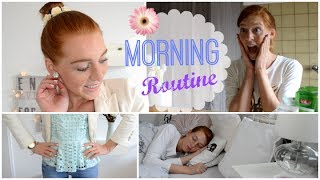Meine MORGENROUTINE | Morning Routine: Running late for school/uni