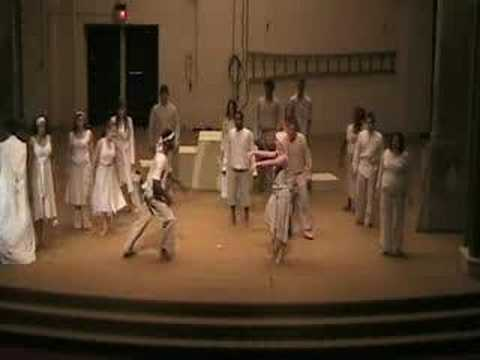 Performed by Signature Theatre. Father Shawn  Shawn Signature Theatre Children of Eden Let there be