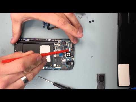 Samsung Note 2 charging port fix, and screen replacement