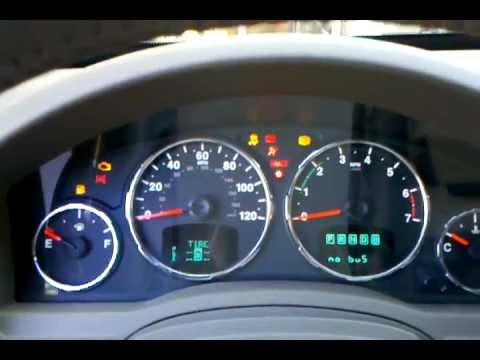 Jeep Liberty Warning Lights Problem - YouTube