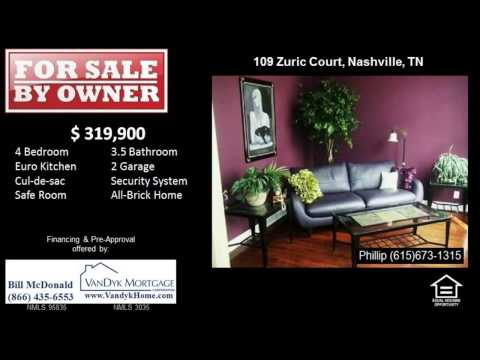4 Bedroom Home For Sale Near Nashville Christian School in Nashville, TN - 11/21/2013