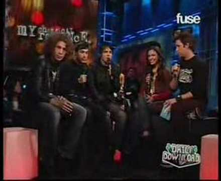 My Chemical Romance on FUSE