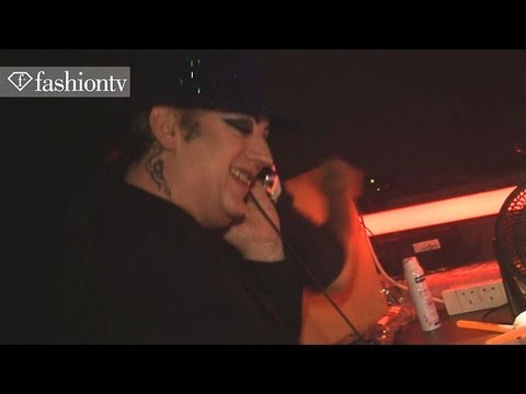 Boy George at Manchester Fashion Week 2012 Closing Party | FashionTV PARTIES