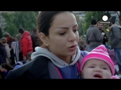 Refugiados sírios em greve de fome na Grécia