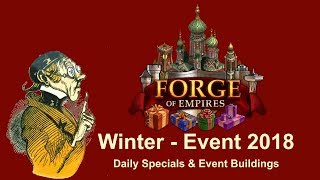 FoEhints: Winter Event 2018 Daily Specials and Event Buildings in Forge of Empires
