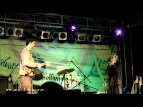 """Gurgang"" from Nadishana Trio set at Krutushka Fest 2011(Надишана Трио. Крутушка"