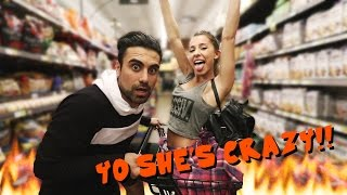 PICKING UP GIRLS IN A GROCERY STORE!!