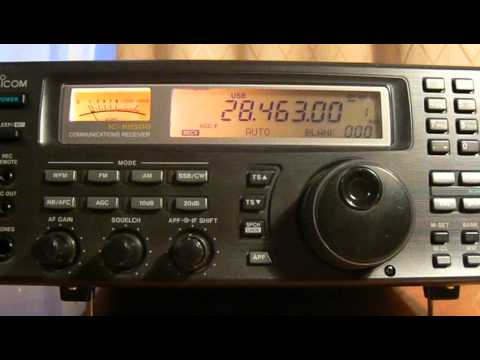 28463khz,Ham Radio,ZS2XD(Despatch,South Africa) 16-05UTC.