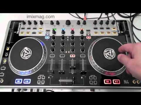 Numark N4 Review. A look Serato DJ INTRO  DJ Controller imixmag.com