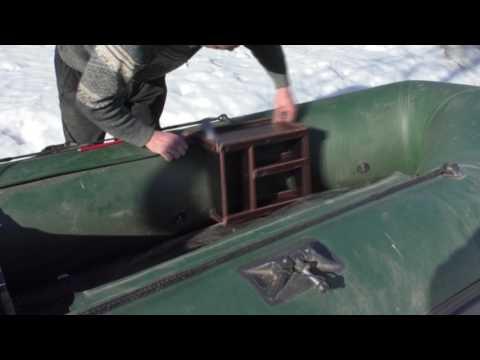 лодка на багажнике уаз