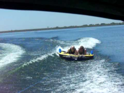 Jon and Dad tubing