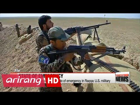 Islamic State group declares state of emergency in Raqqa: U.S. military
