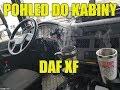 GUGÝTO   POHLED DO KABINY DAF XF