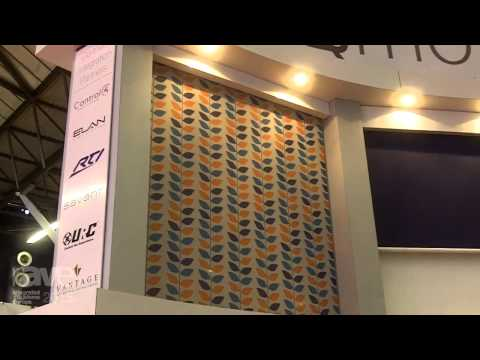 ISE 2015: QMotion Shows its Roller Shade with Manual Override
