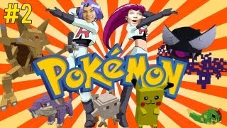 Centrum POKEMONÓW! - Minecraft Pokemony #2