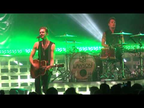 Lawson- Taking Over Me (live At The Plymouth Pavilions 14 10 13) video