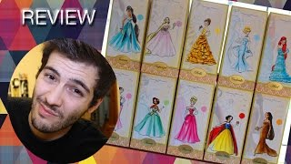 Disney Store - Designer Princess Limited Edition Dolls (FULL SET REVIEW)