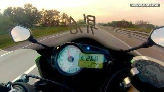 Kawasaki ZX6R Top Speed & High Speed