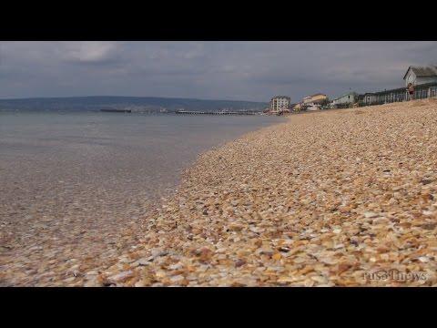 Прибрежное Крым Аквапарк пляж Поездка на море 6 Июля 2014