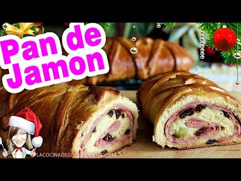 Pan de Jamon Tradicional Venezolano (Receta de Claudio Nazoa)