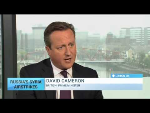 Russia's Syria Airstrikes: Cameron says Russian military action in Syria a 'terrible mistake'