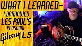 Les Paul 39 S Gibson L 5 What I Learned Tim Pierce