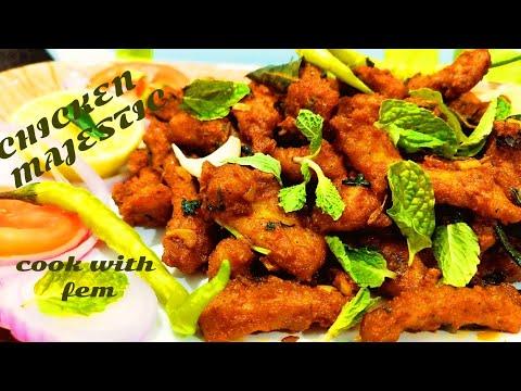 Chicken Majestic - Hyderabadi Shadiyon Aur Restaurants Ka Sab Sey Best Starter By Cook With Fem
