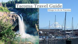 Fun Things to do in Tacoma! || Tacoma Travel Guide