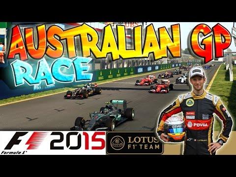 F1 2015 - Championship - GP d'Australie - Course