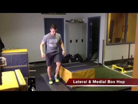 1 Leg Box Hop  Linear & Lateral